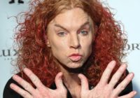 Carrot Top – Comedian who made a joke out of his own face