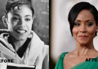Jada Pinkett Smith photos before and after plastic surgery