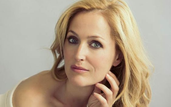 Gillian Anderson after her plastic surgery
