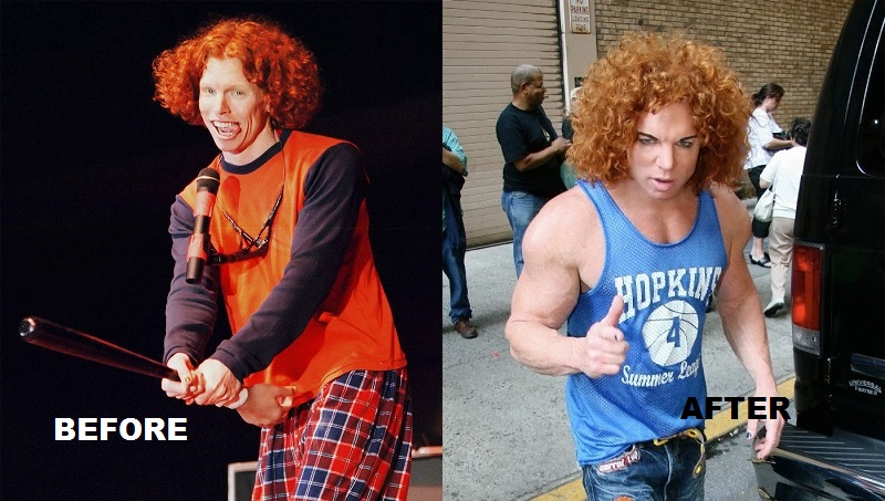 Carrot Top what happened